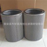 厂家直销 304 316L不锈钢网空气折叠滤芯   空气粉尘过滤滤芯