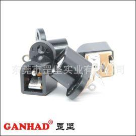 罡坚GANHAD厂家供应DC插座 小电流插座 DC16插座 插拔力适中可靠