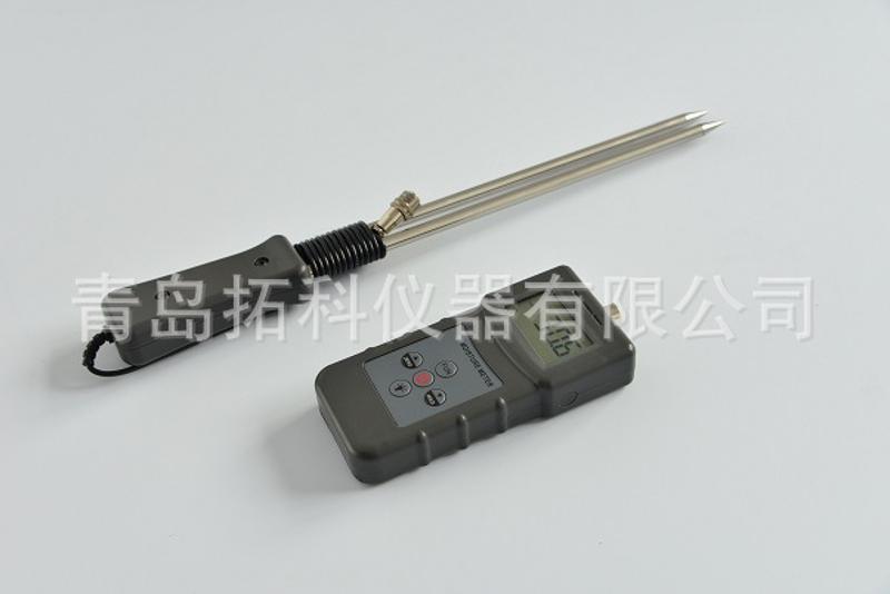 山东花生壳木糠水份速测仪 MS-W   南京稻壳生物质能源水分计