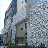 門頭雕花鏤空造型鋁單板 異型凸三角燒焊鋁單板幕牆 氟碳鋁單板