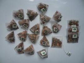 袋泡茶包装机尼龙电子秤茶叶包装机多功能三角包茶叶包装机