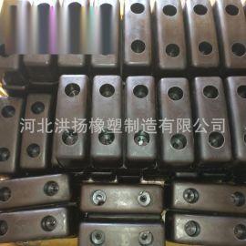 耐磨橡膠減震塊 橡膠減震膠塊 橡膠減震膠墩 緩衝橡膠墊塊