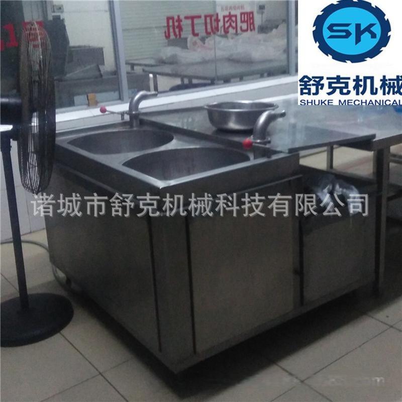 爆款廣式五香臘腸罐裝機器 舒克全自動臘腸灌腸機 小本創業設備