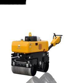人力转向电磁离合振动692kgRWYL33手扶压路机美国轻载型变量柱塞泵摆线液压马达驱动变速行走价格可议