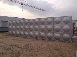 304方形保温直销不锈钢水箱 消防水箱生活水箱