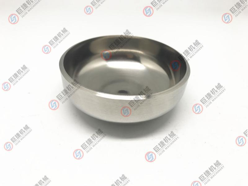 SUS304不锈钢椭圆形封头椭圆堵头316L椭圆焊接管堵426*3-2000*3