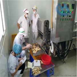 榴莲酥裹粉机 榴莲酥上粉设备 榴莲酥油炸机器