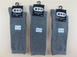 纯色棉袜长筒袜/及膝长袜子 显瘦高筒袜 女学生 港澳台学生袜
