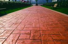 南京壓花透水防滑彩色混凝土地坪