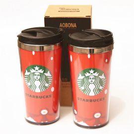 创意咖啡杯 咖啡杯 欧式 塑料咖啡杯 星巴克咖啡杯 汽车杯 不锈钢咖啡杯ABN-105