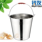 銳友不鏽鋼手提桶 ,水桶洗衣洗菜洗車桶, 家用大號加厚儲水桶