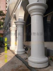 深圳厂家供应欧式玻璃钢罗马柱雕塑工艺品