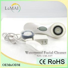 洗脸神器_清洁面部洗脸刷_电动美容洁面仪_乐麦科技LM-107
