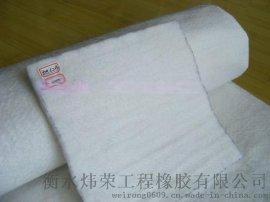 贵州黔东南生产直销批发炜荣耐酸碱抗腐蚀复合土工膜短纤维土工布可订做