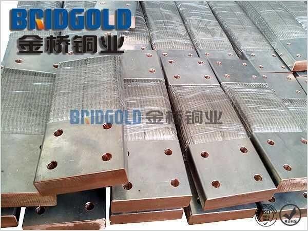 常年生产铜线软连接 耐弯曲铜导电带 品质**