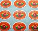 水果不干胶标签牛皮亮银不干胶标签商标不干胶标签