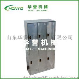 HY-GYG系列不锈钢员工更衣柜