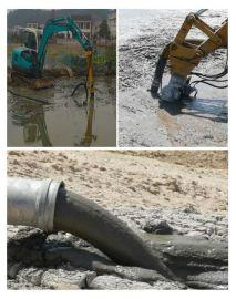 挖机清淤泵,河道专用疏浚泵