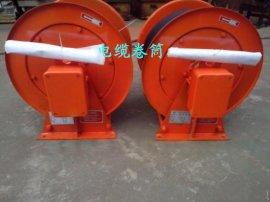 亚重牌JTC型卷取电缆长度100米,水平地面卷取电缆截面16mm2,滑环内装式