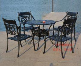 厂家批发KH-G001户外实木餐桌椅 休闲组合桌椅