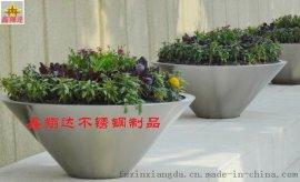 时尚不锈钢花盆  台阶面花插瓶  金属花器特价