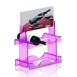 有机玻璃红酒杯架  亚加力酒座