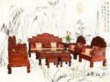 大红酸枝沙发 款式新 种类齐全 交趾黄檀家具