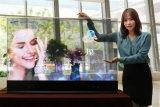 上海三星OLED透明玻璃显示触摸屏 自发光透明触摸屏 透明玻璃显示器