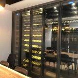专业供应别墅酒窖 不锈钢复古酒柜 地下室整体定制