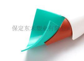 现货供应2-5mm厚 工作台面板专用绿色PVC胶板 防腐蚀无气味PVC软板