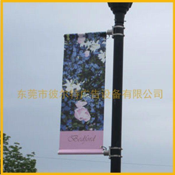 特诺斯灯杆广告横幅固定装置,路灯广告横幅支架