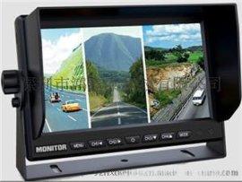 水稻收割機,渣土車,吊車等重工車輛專用7寸金屬車載顯示屏,可接4路攝像頭,全方位保障施工安全