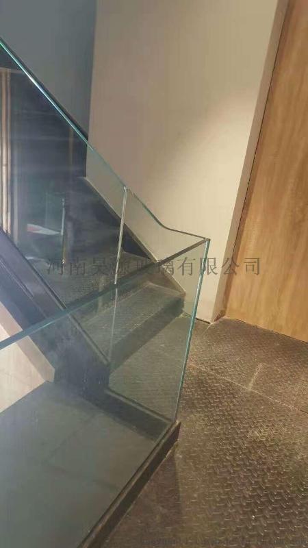 昊源玻璃定制玻璃扶手
