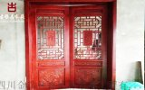 贵州仿古门窗厂家,实木花格雕花门窗定做厂家