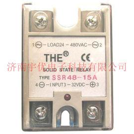SSR48-15A THE无锡天豪单相交流固态继电器