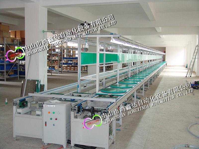 广州顺德咖啡机生产线电烤箱流水线榨汁机装配拉流水线