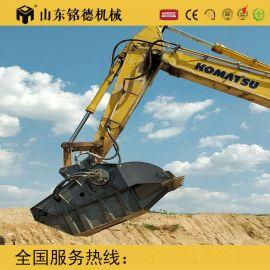 宁波建筑垃圾破碎机 挖掘机破碎斗 石子加工移动破碎
