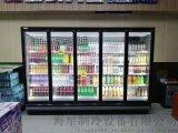 郑州奶茶店用的双开门饮料展示柜需要多少钱一台