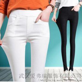服装进货尺码和数量羽莎国际新款阔腿裤【齐色齐码】