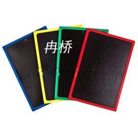 宁波黑板厂家 彩色边框塑料板批发 注塑学生小黑板定制加工