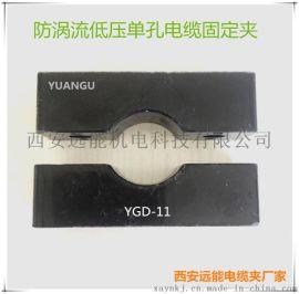 低压单孔电缆固定夹具种类|防涡流低压电缆固定夹具大全
