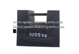 源头工厂直销定制款大型机械配重1吨砝码 铸铁砝码锁形价格