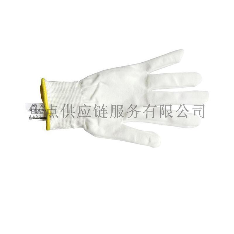 霍尼韦尔 无硅涤纶基础防护针织工作手套 2132201 9寸 10付
