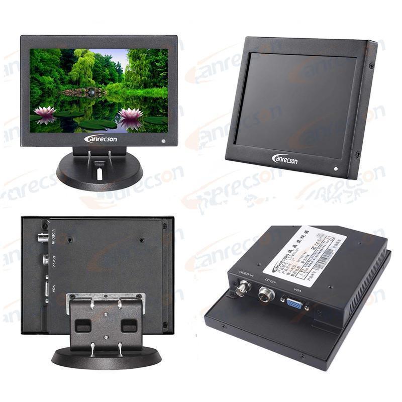 7寸監視器 7寸車載專用高清防電磁干擾監視器 小尺寸液晶顯示器