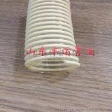 pu聚氨酯风管 进口料 镀铜钢丝 聚氨酯伸缩软管 吸排风管PU通风管