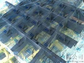 特殊规格铝格栅-三角形铝格栅【装饰效果】