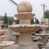 石雕喷泉加工定做 别墅大型石雕喷泉厂家