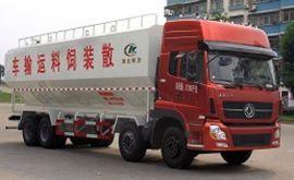 33方饲料车|畜禽散装饲料车| 程力威牌饲料运输车