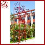 鸿建供应 中铁钢管门式脚手架 建筑龙门架 多功能出口钢支撑
