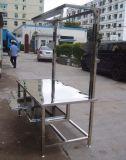 神木不鏽鋼工作臺/神木鋁板來料加工/廠家直銷